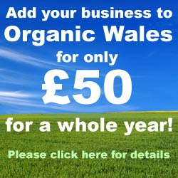 Advertise on the Organic Wales Directory